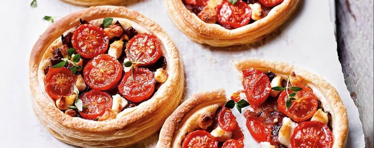tomato-goat-cheese-tarts-