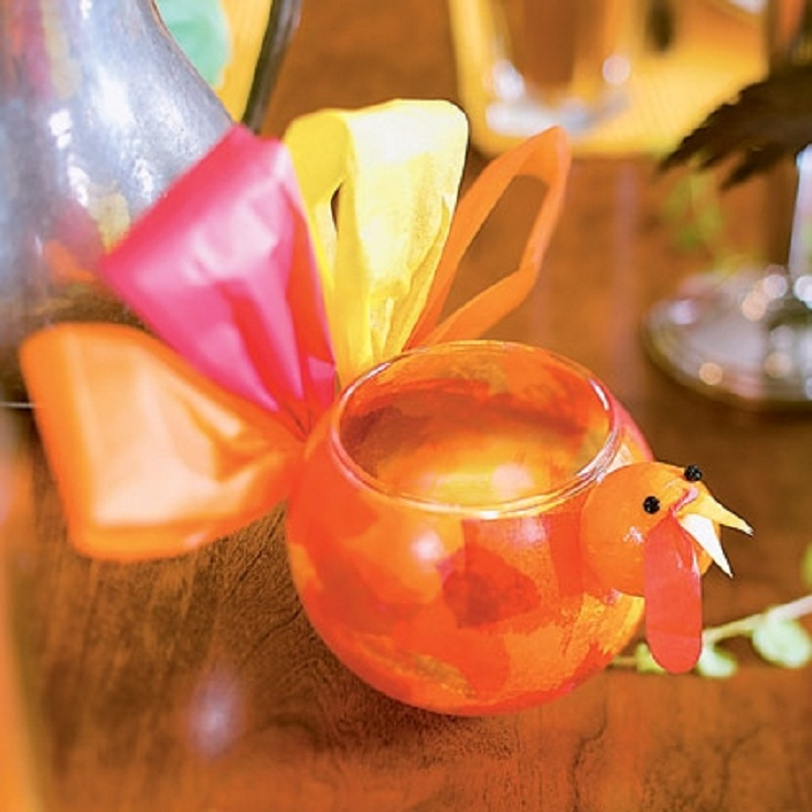 Top 10 diy thanksgiving crafts for kids top inspired for Candle holder crafts