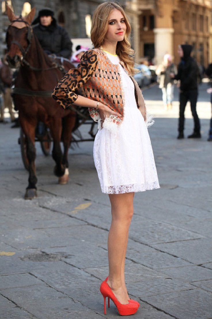 Top 10 White Lace Dress Combinations - Top Inspired