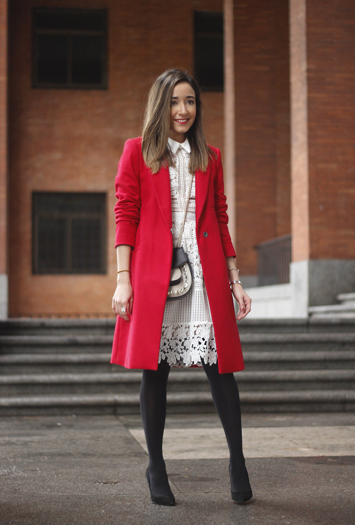white-lace-dress-with-red-long-coat-and-black-stockings-