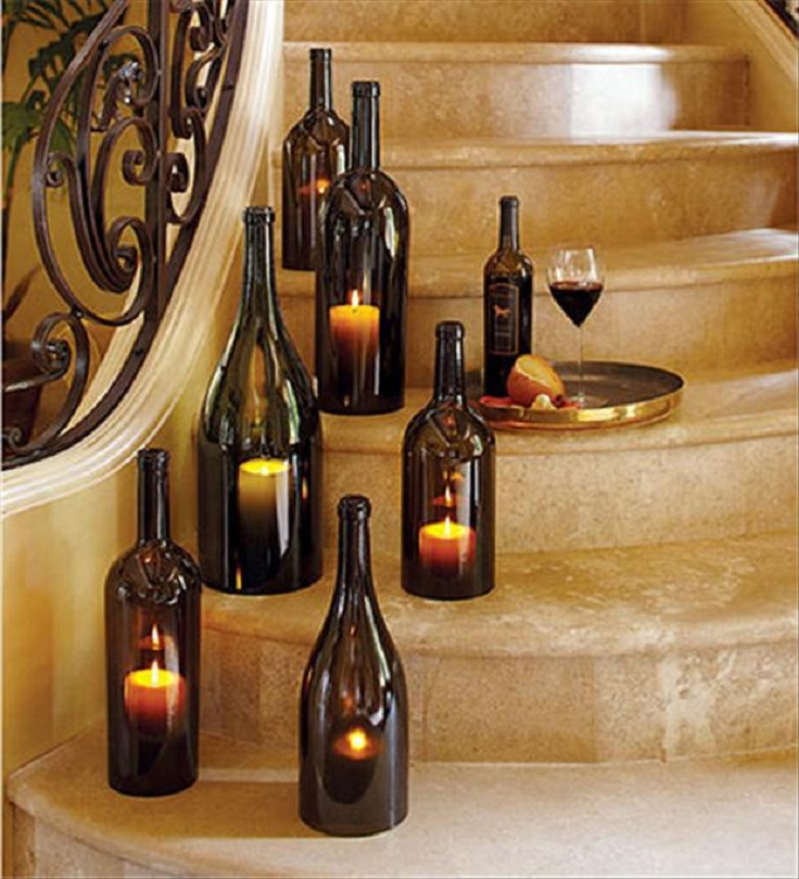 wine-bottle-candels