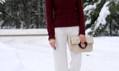 Top 10 Ways To Wear Burgundy Color In Winter | Top Inspired