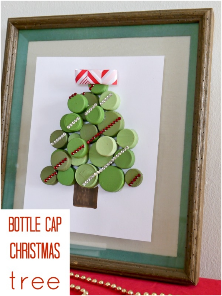 Photo Frame Christmas Tree Ornaments