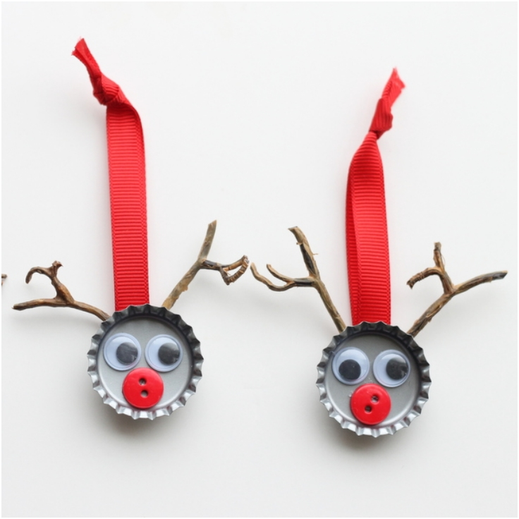 Bottle-Cap-Reindeer-Kids-Crafts