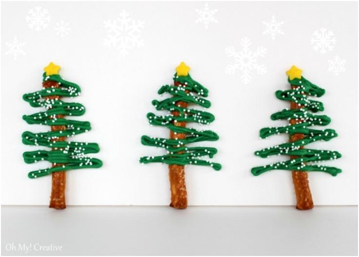Chocolate-Pretzel-Christmas-Tree