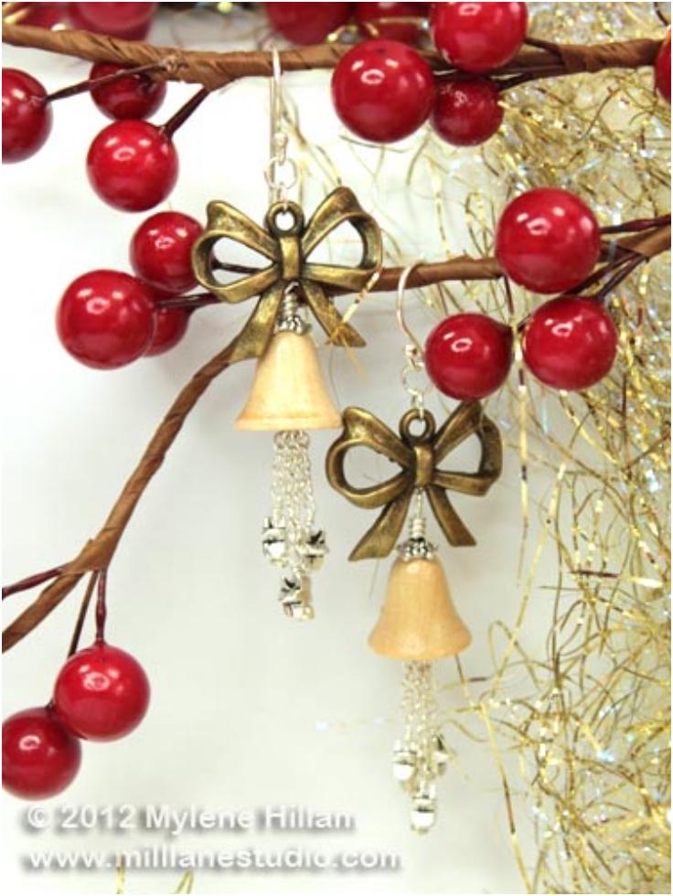 Christmas-Bell-Earrings