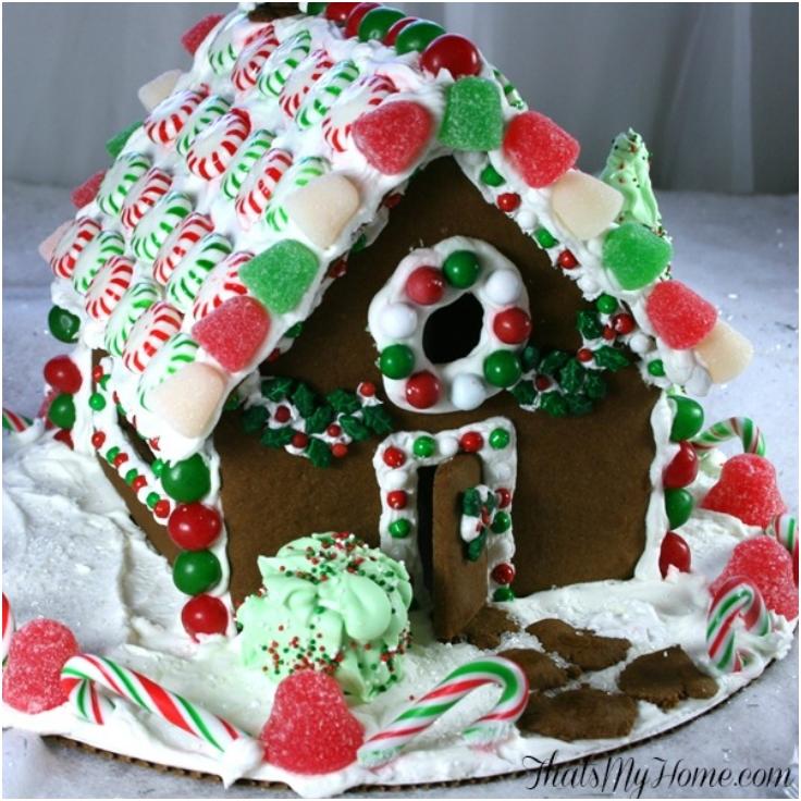 Christmas-Gingerbread-House