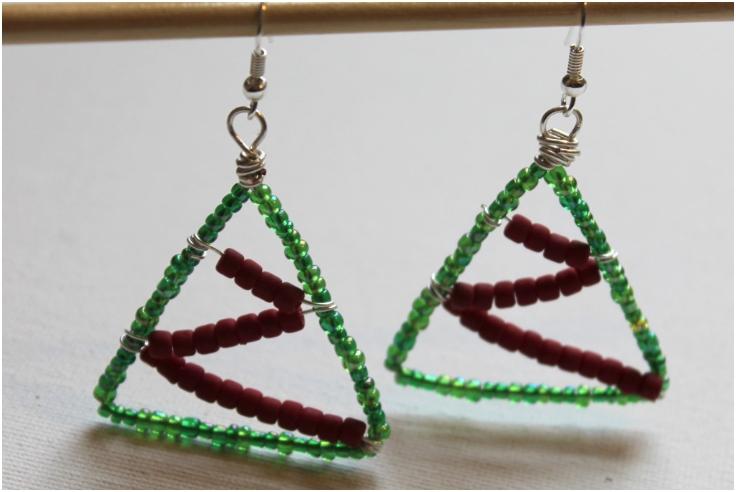 Christmas-Tree-Earrings