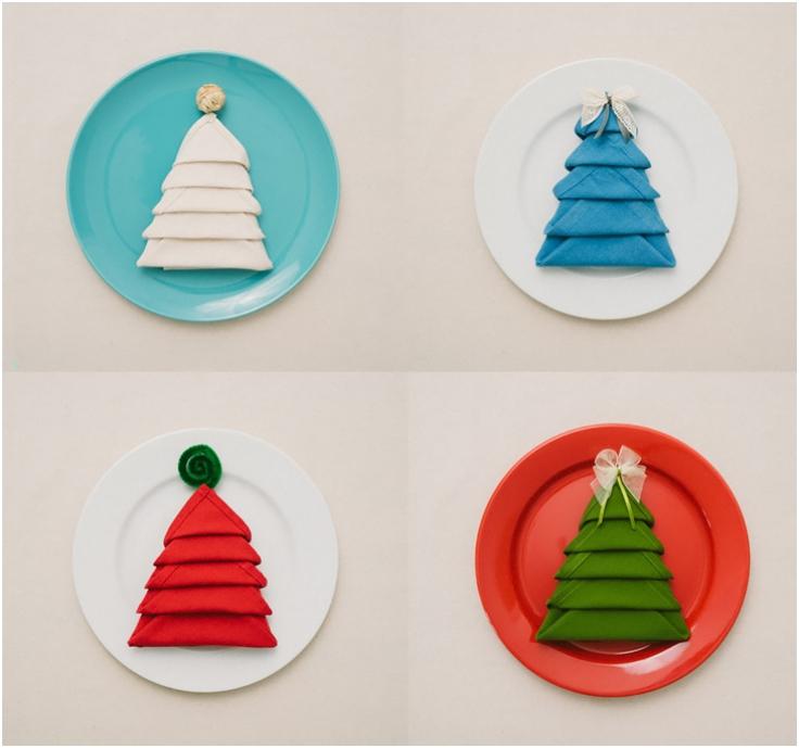 Christmas-Tree-Napkin-Fold