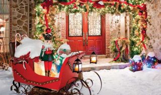 Top 10 Inspirational Christmas Front Porch Decorations | Top Inspired