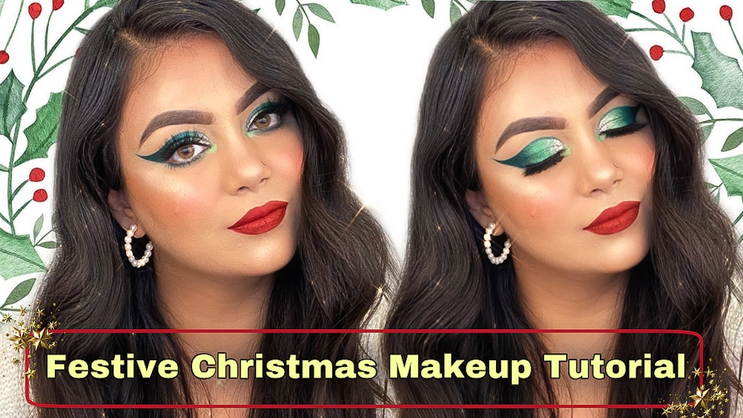 Christmas-makeup-look