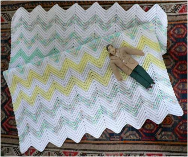 Easy Crochet Ripple Afghan Tutorial : Top 10 Darling DIY Baby Blanket Tutorials And Free ...