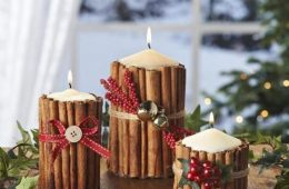 Top 10 DIY Beautiful Christmas Candles and Candle Holders   Top Inspired