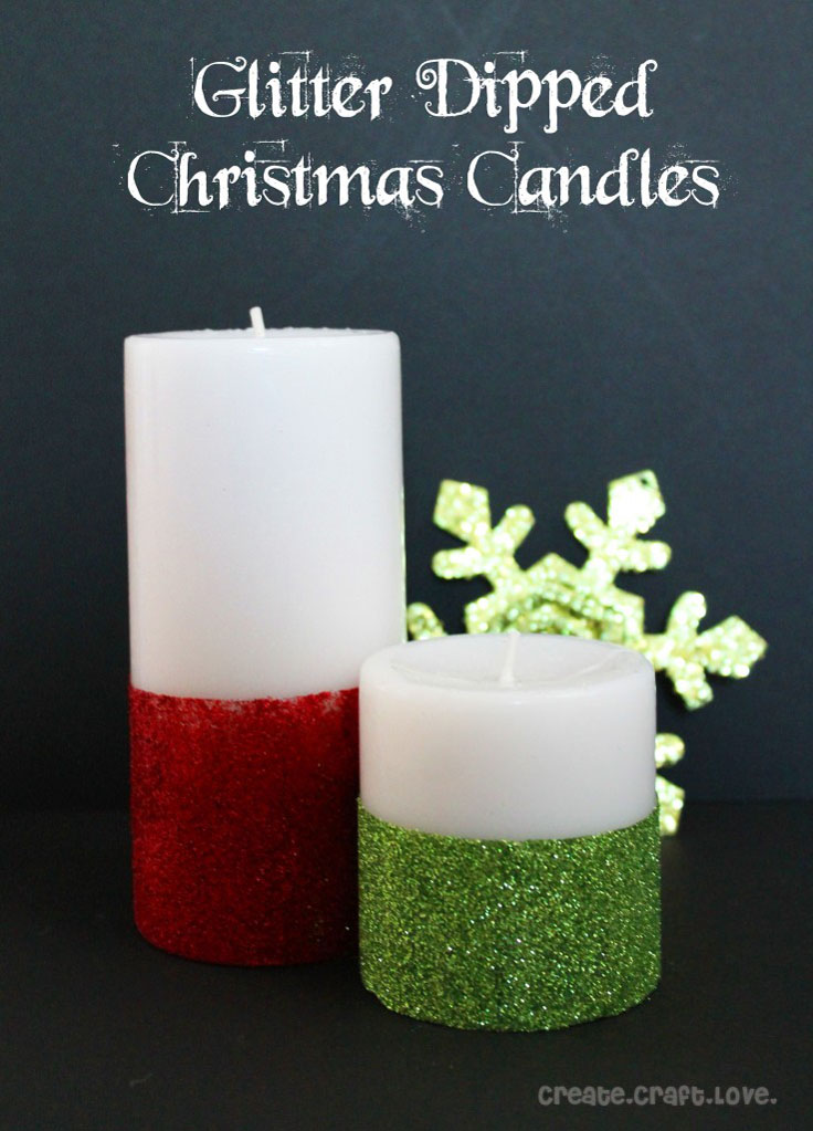 Top 10 DIY Beautiful Christmas Candles and Candle Holders - Top ...