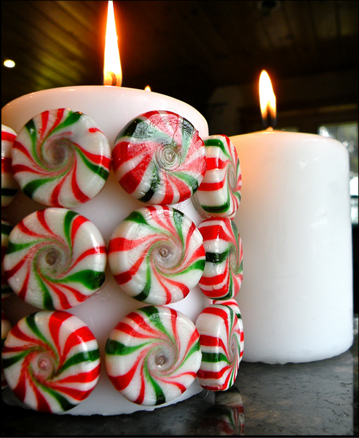 Top 10 DIY Beautiful Christmas Candles and Candle Holders ...