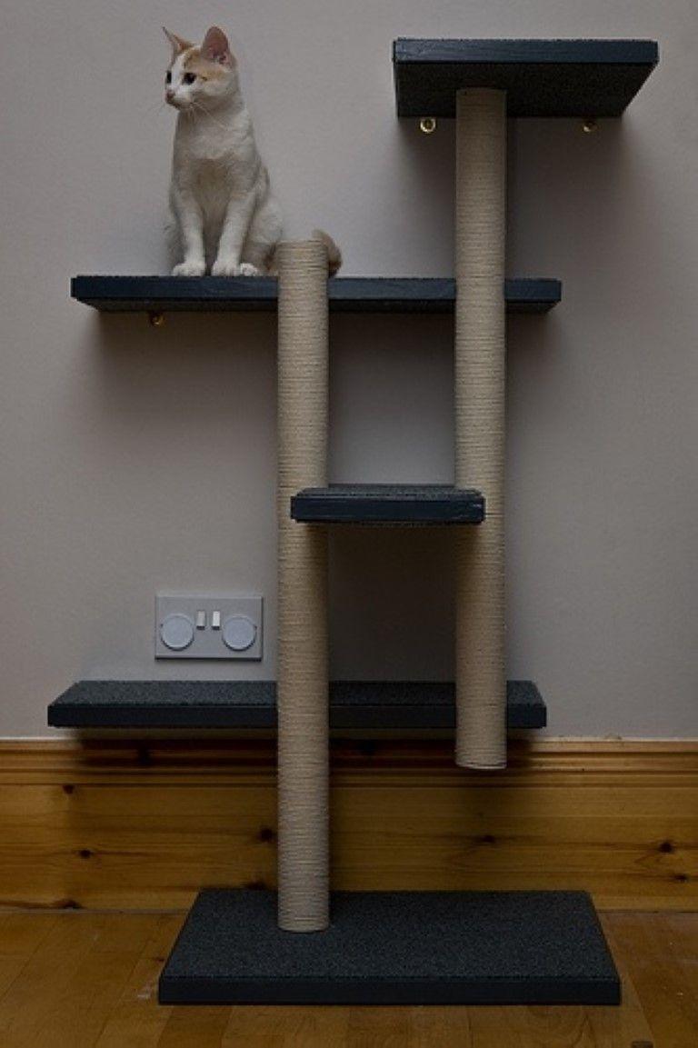 DIY-Cat-tree-house-simple