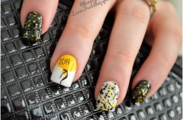 Top 10 New Year's Eve DIY Glittery Nail Art | Top Inspired