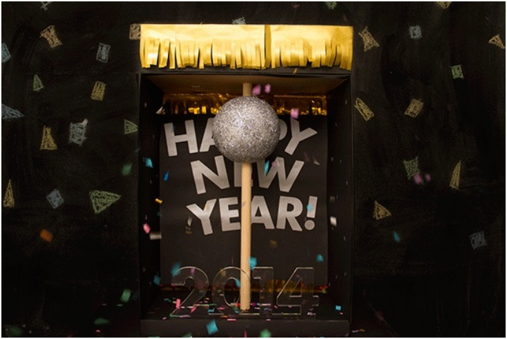 DIY New Years Ball Drop1