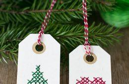 Top 10 DIY Christmas Gift Tags   Top Inspired
