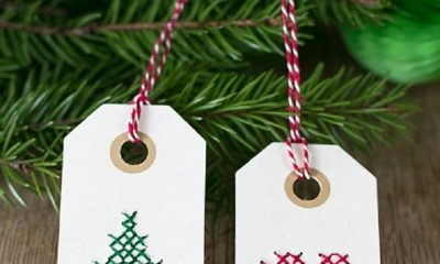 Top 10 DIY Christmas Gift Tags | Top Inspired