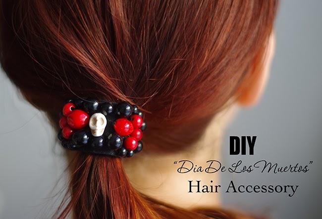 DIY-dia-de-los-muertos-beaded-hair-elastic-designed-by-xenia-kuhn-for-fashion-blog-www.fashinrolla.com-1
