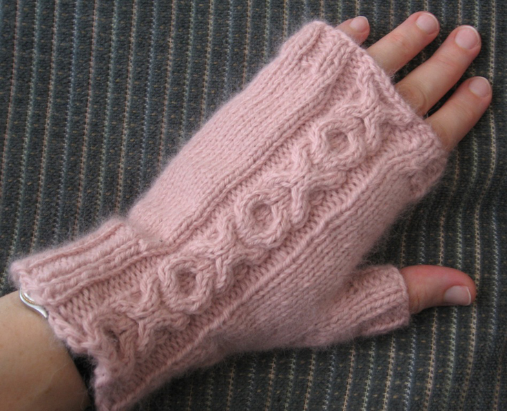Top 10 Free Patterns for Knitting Fingerless Mittens - Top Inspired