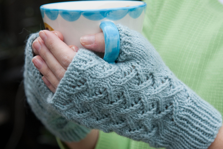 Knit Glove Pattern : Top 10 Free Patterns for Knitting Fingerless Mittens - Top Inspired