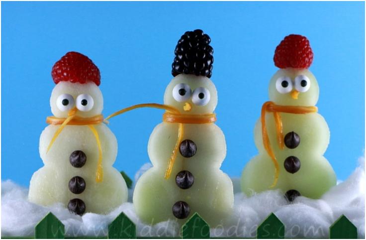 Fruit-Snowman