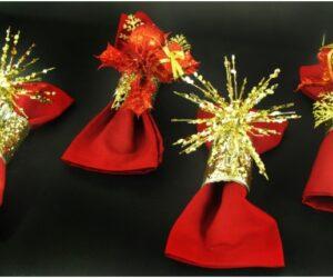 Top 10 DIY Christmassy Napkin Rings