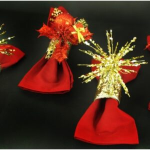 Top 10 DIY Christmassy Napkin Rings   Top Inspired
