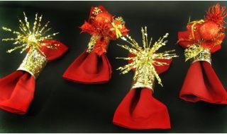 Top 10 DIY Christmassy Napkin Rings | Top Inspired
