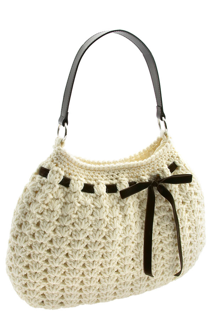 Free Patterns For Handbags : Top 10 Gorgeous Crochet Patterns for Handbags - Top Inspired