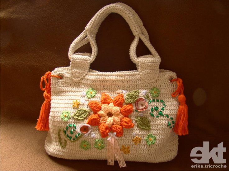 Free Crochet Patterns Purses Handbags : Top 10 Gorgeous Crochet Patterns for Handbags - Top Inspired