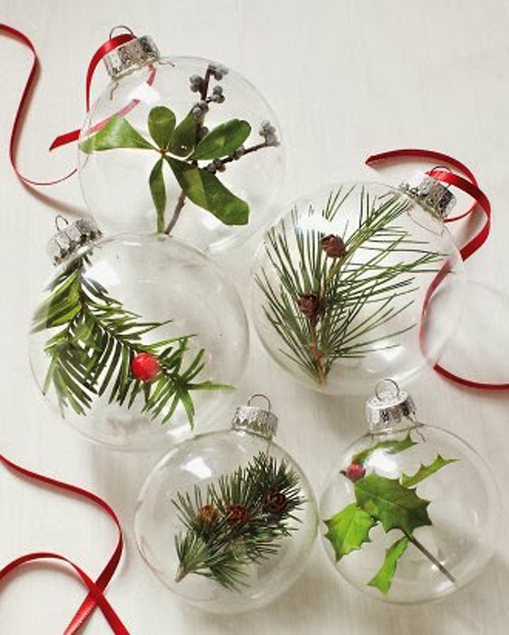 Christmas Decorations From Nature Part - 48: Top 10 DIY Greenery Christmas Decorations