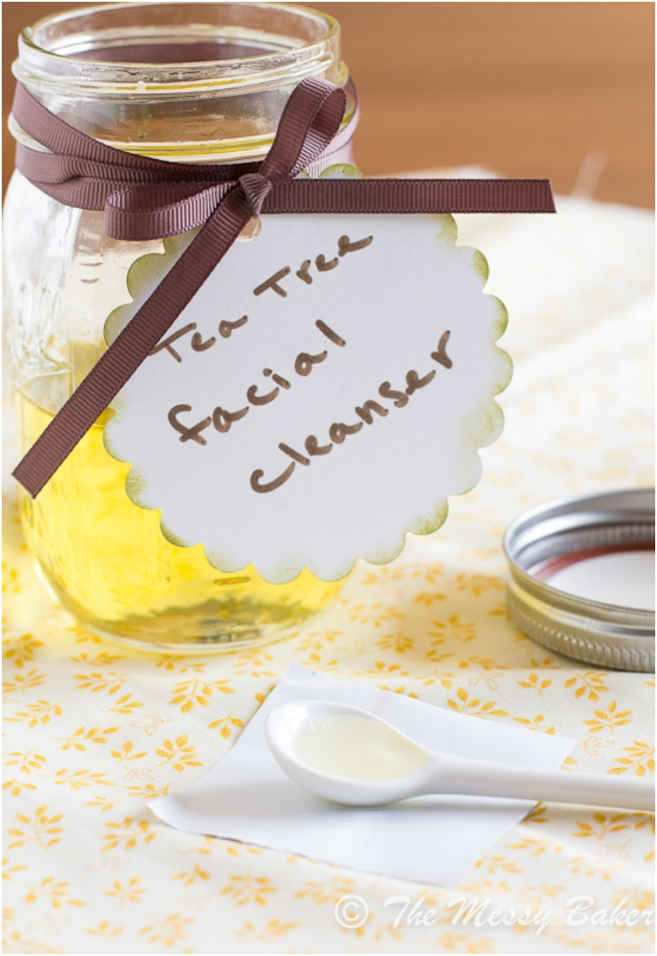 Homemade-Tea-Tree-Oil-Facial-Cleanser