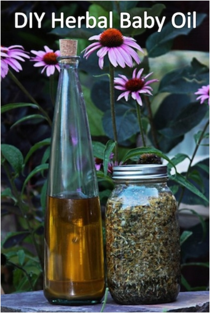 How-to-Make-Your-Own-Herbal-Baby-Oil