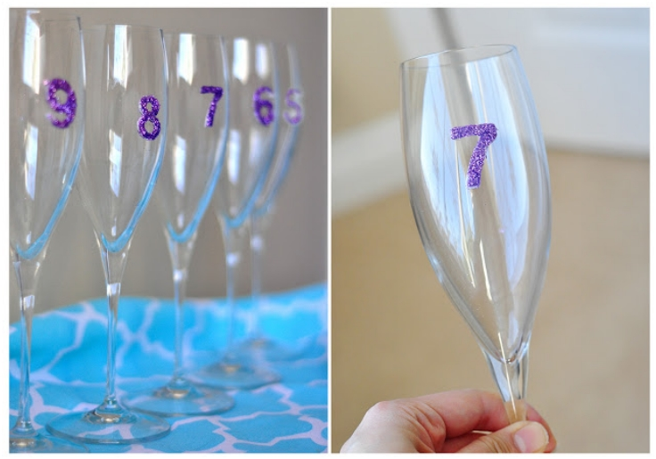 Top 10 DIY Decorative Wine Glasses