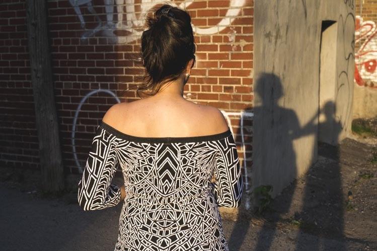 Off-teh-Shoulder-knit-dress