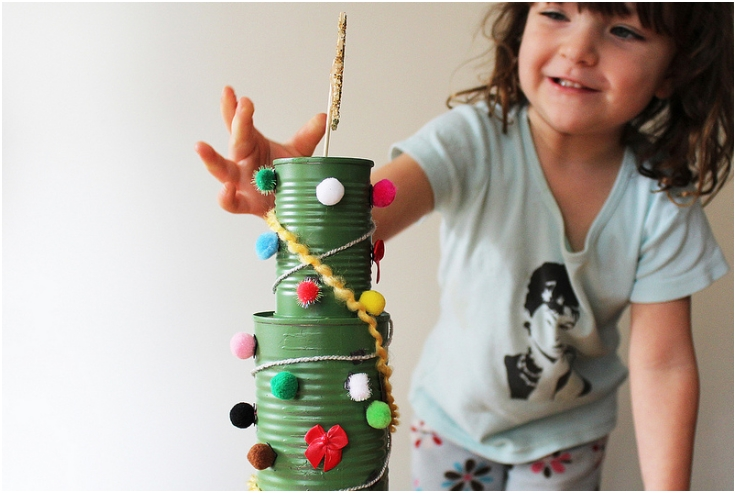 Tin-Can-Christmas-Tree-Activity