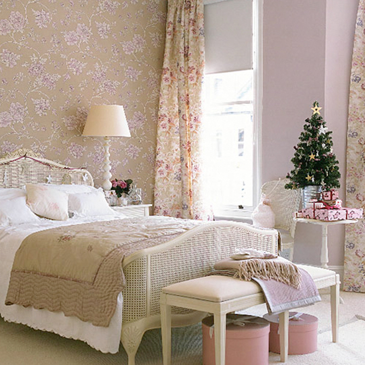Top 10 Ideas To Add A Touch Of Christmas In The Bedroom Inspired