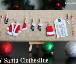 Top 10 Jolly DIY Christmas Canvas Ideas