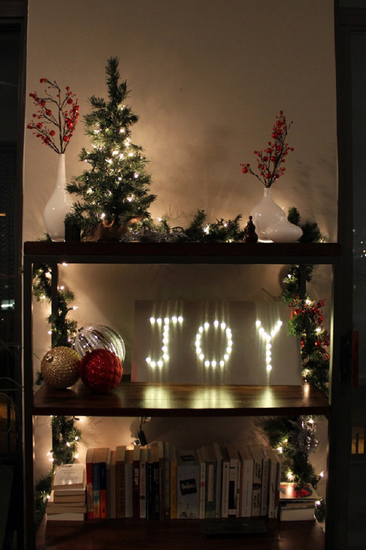 Top adorable diy decorations with christmas lights