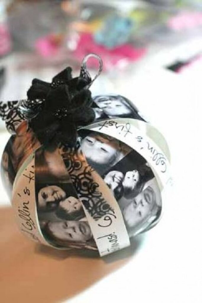 Top 10 Awesome DIY Christmas Photo Ornaments - Top Inspired