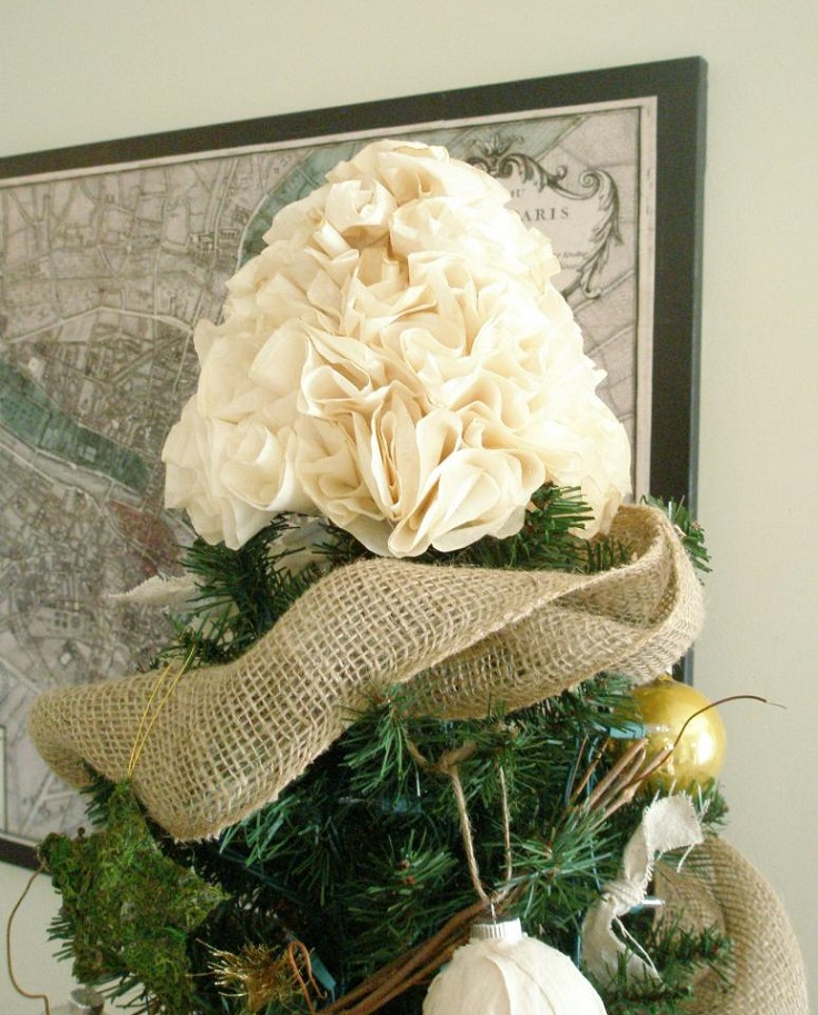 Top 10 Beautiful Christmas Tree Topper Tutorials