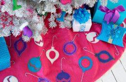 Top 10 Festive DIY Christmas Tree Skirts | Top Inspired