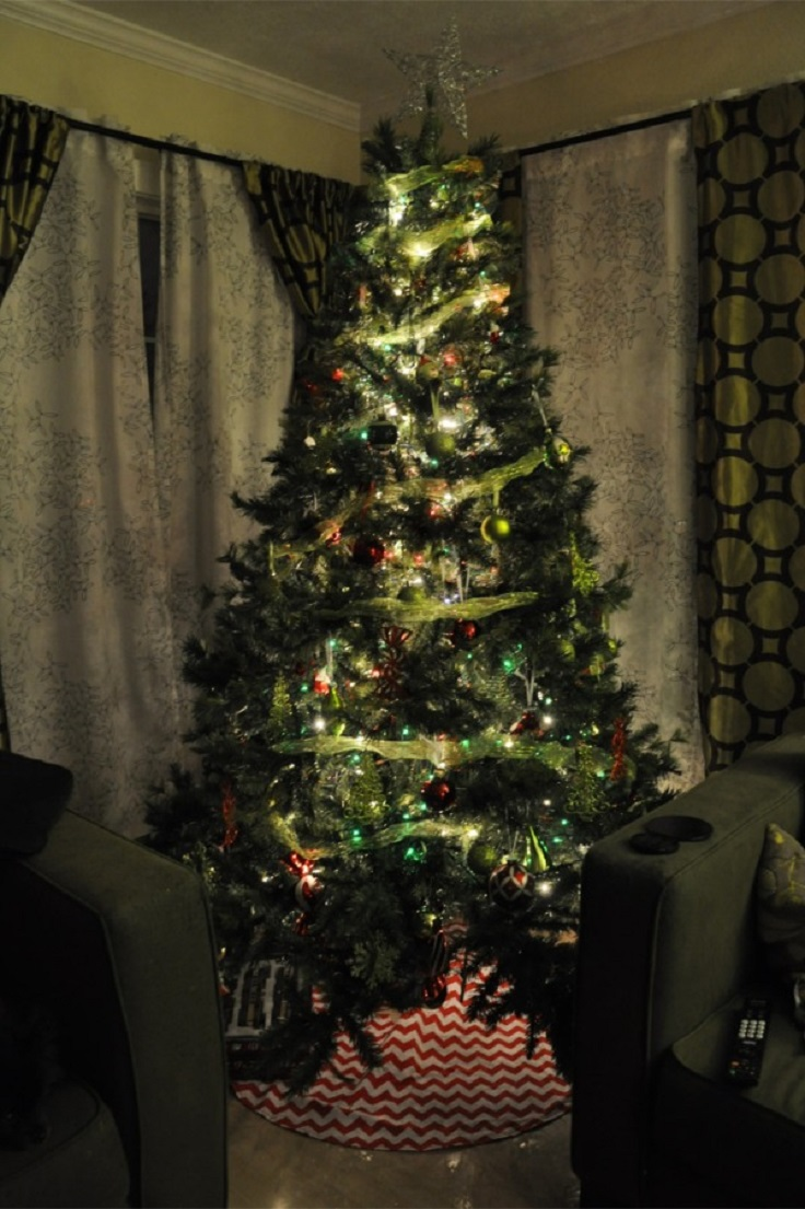 Top festive diy christmas tree skirts inspired
