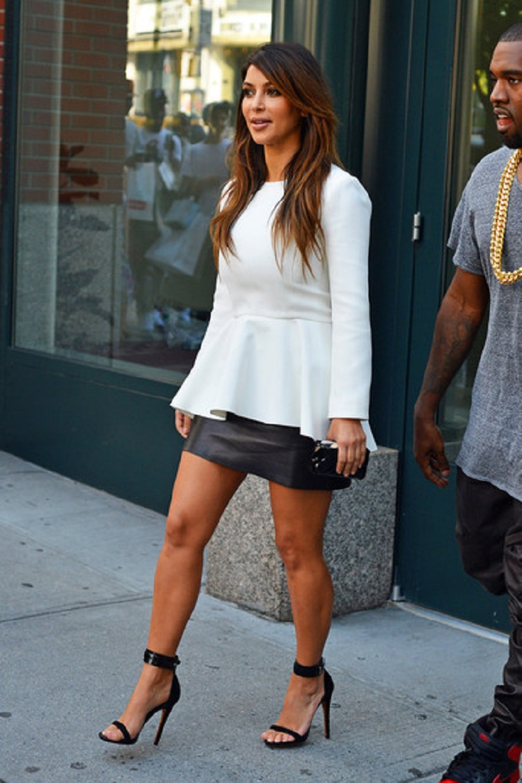 Top 10 Best Kim Kardashian S Outfits Top Inspired