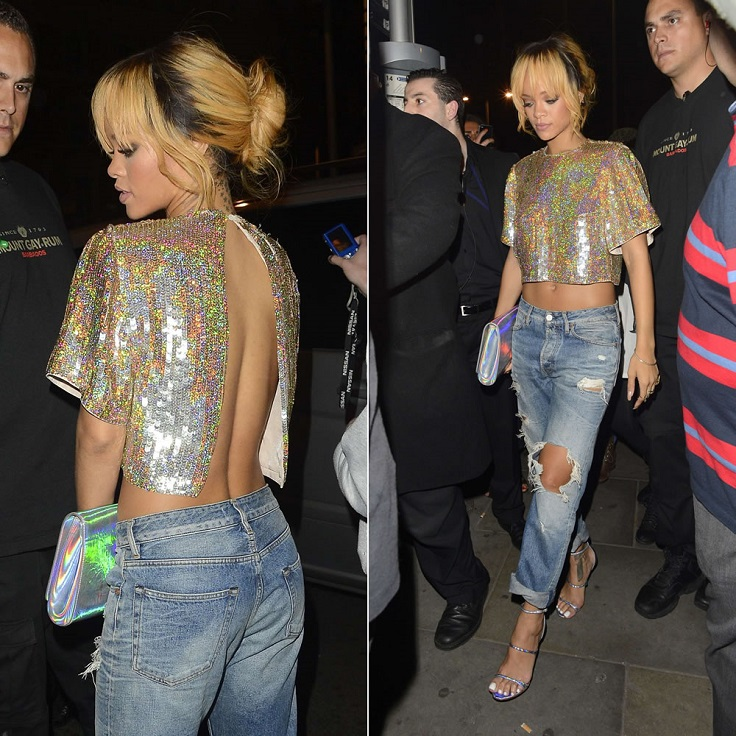 Top 10 Best Rihanna's Outfits of 2013