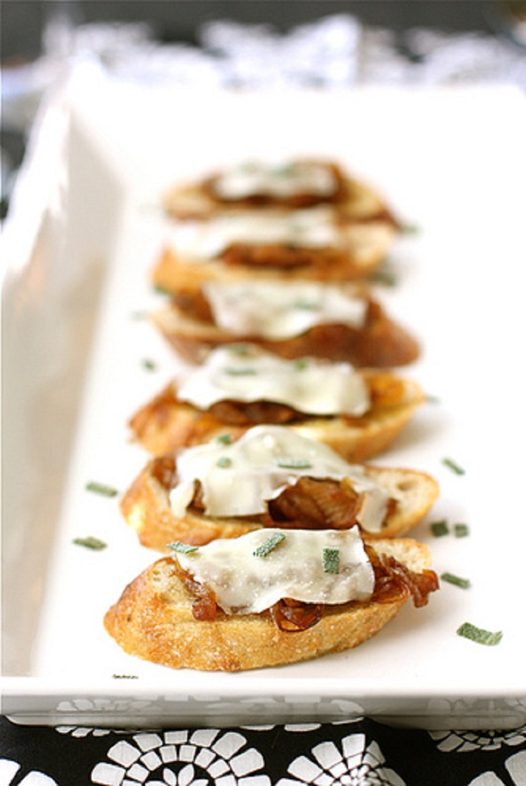 Top 10 canap recipes for a great party top inspired for Canape with cheese