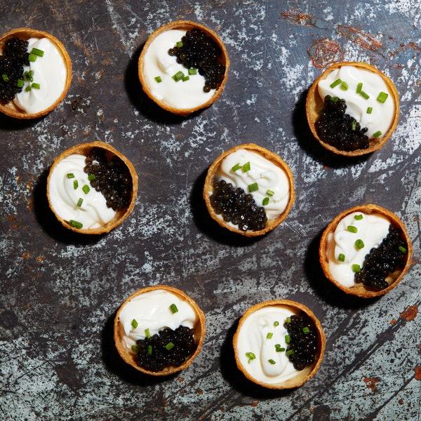 caviar-and-creme-fraiche-